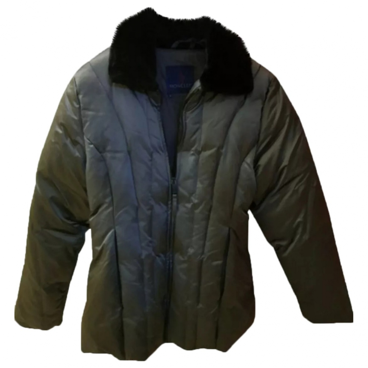 Moncler - Manteau Classic pour femme - gris