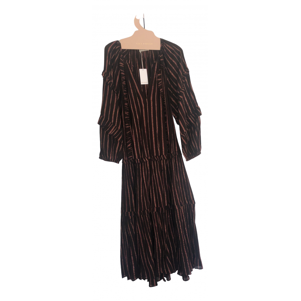 Ulla Johnson \N Brown Cotton - elasthane dress for Women 4 US