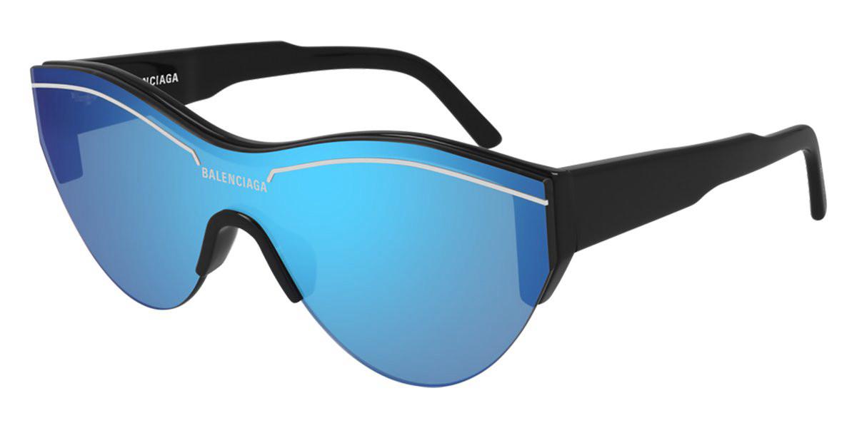Balenciaga BB0004S 009 Men's Sunglasses Black Size 99