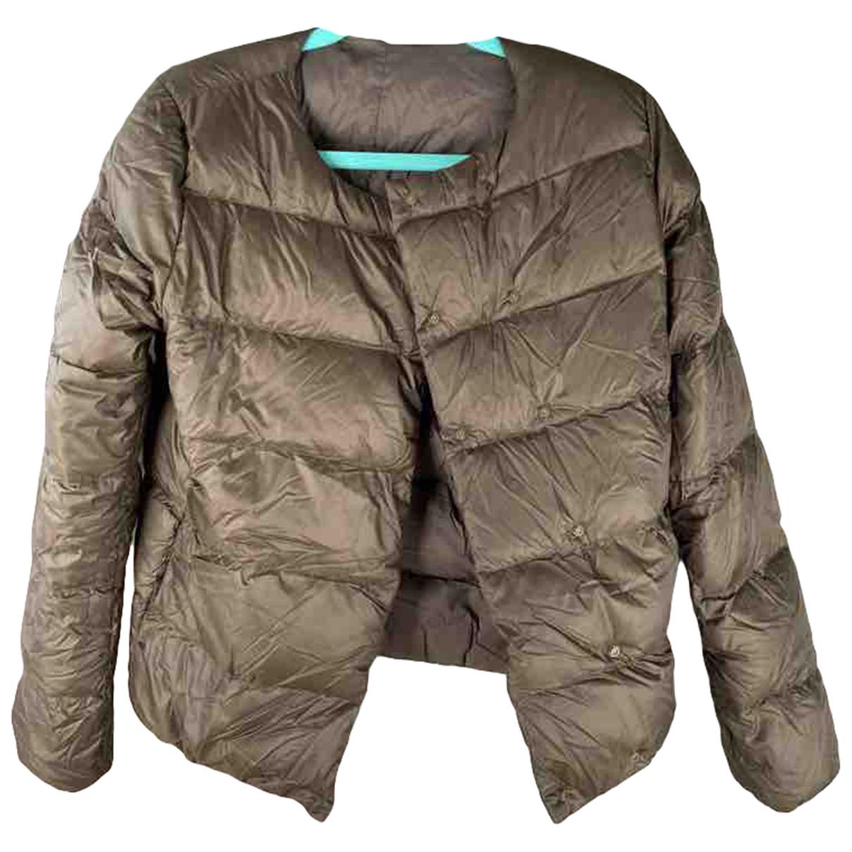 Pyrenex N Khaki coat for Women 10 UK