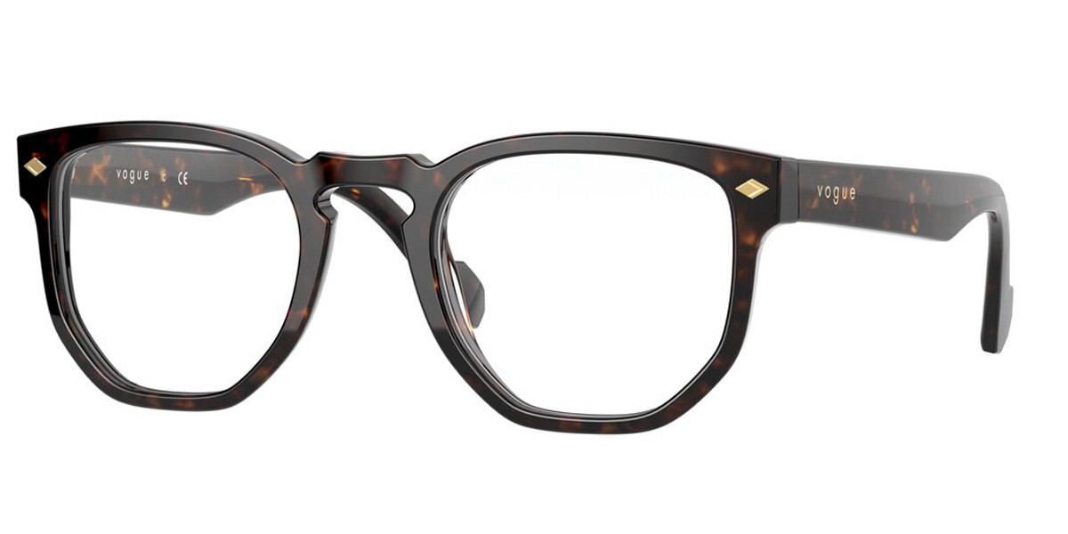 Vogue Eyewear VO5360 W656 Men's Glasses Tortoise Size 47 - Free Lenses - HSA/FSA Insurance - Blue Light Block Available