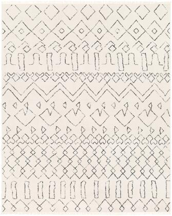 Nettie NET-1003 8' x 10' Rectangle Global Rug in Cream