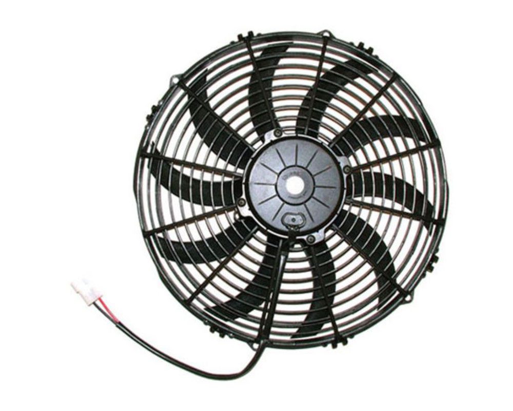 SPAL 30102045 Electric Fan 1682CFM | Pusher Fan Design | Curved Style Blades