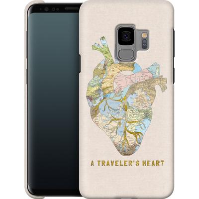 Samsung Galaxy S9 Smartphone Huelle - A Travelers Heart von Bianca Green
