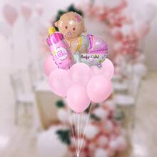 11 Stuecke Baby Party dekorativer Ballon Set