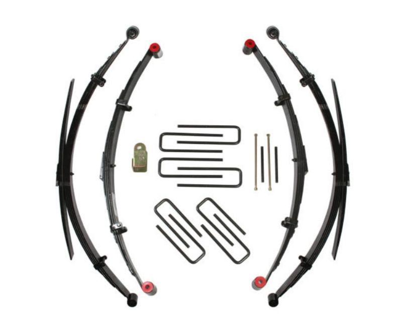 Skyjacker T305RKS 4Runner Lift Kit 5 Inch Lift 84-85 4Runner  w/Front/Rear Leaf Springs Front/Rear U Bolt Kits Front/Rear Spring Bushing Kits Track Ar