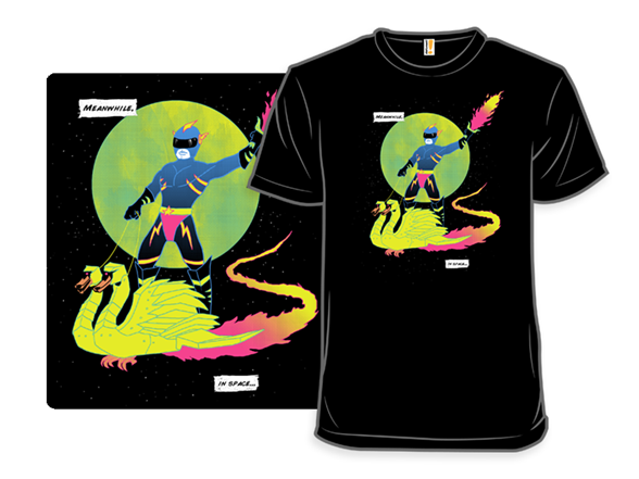 Meanwhile In Space T Shirt