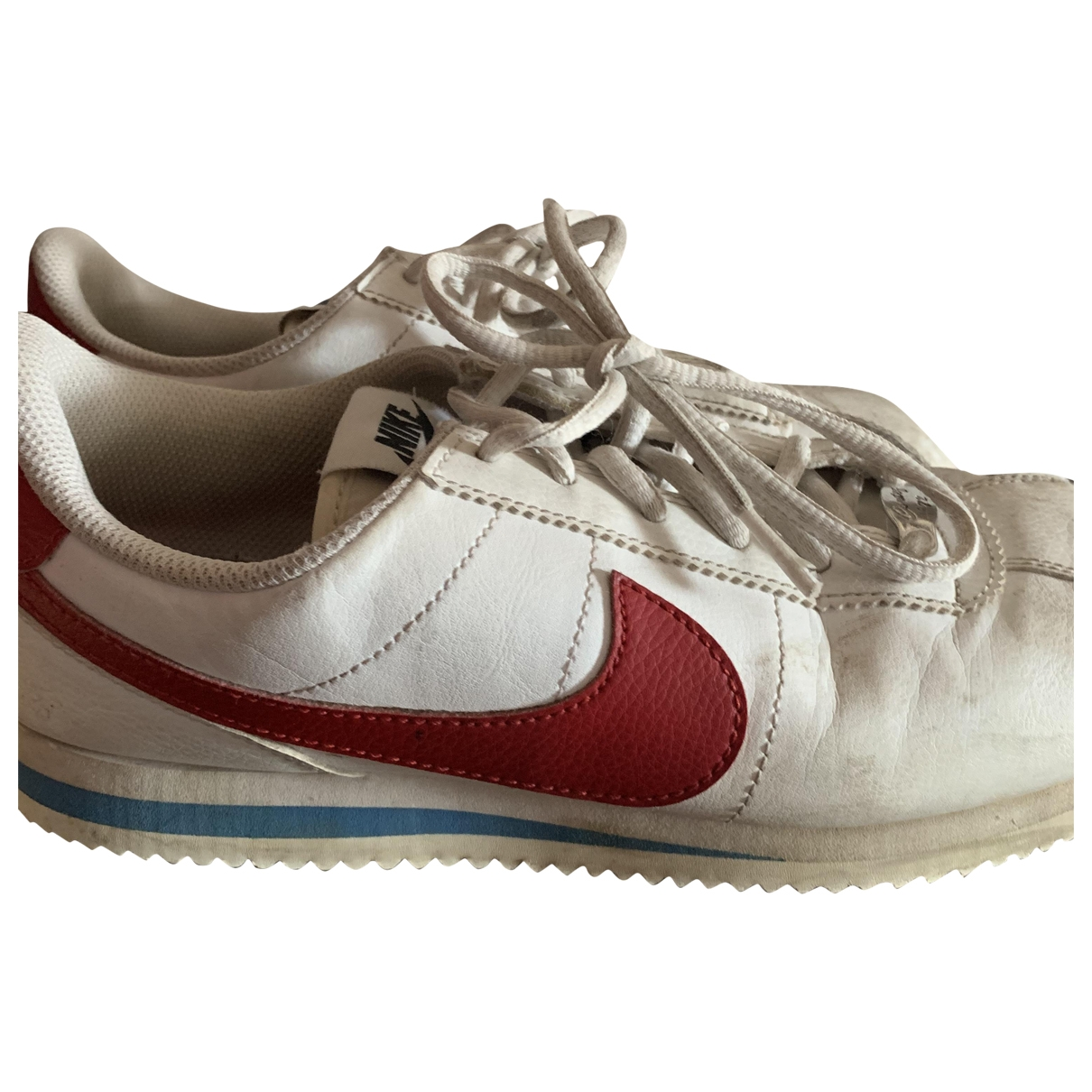 Nike Cortez White Leather Trainers for Women 40 EU