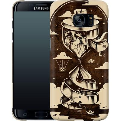 Samsung Galaxy S7 Edge Smartphone Huelle - Time Heals von Enkel Dika