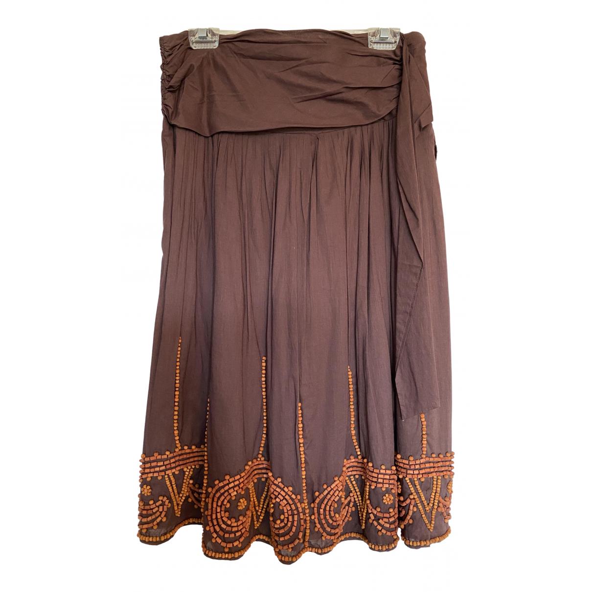 Falda midi Antik Batik