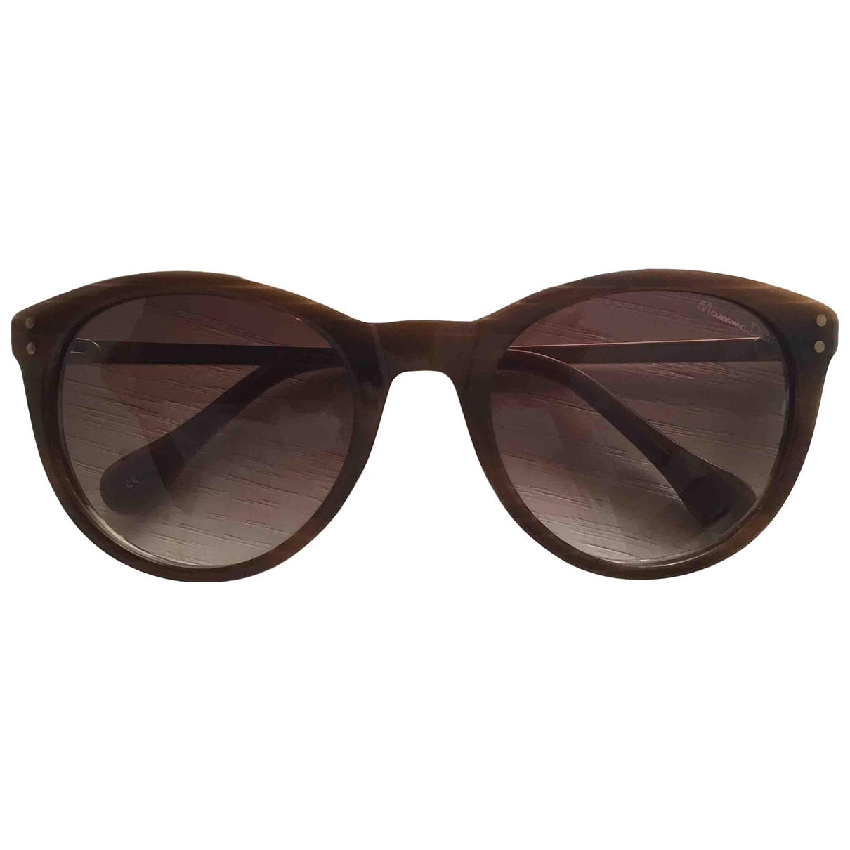 Massimo Dutti \N Brown Sunglasses for Women \N