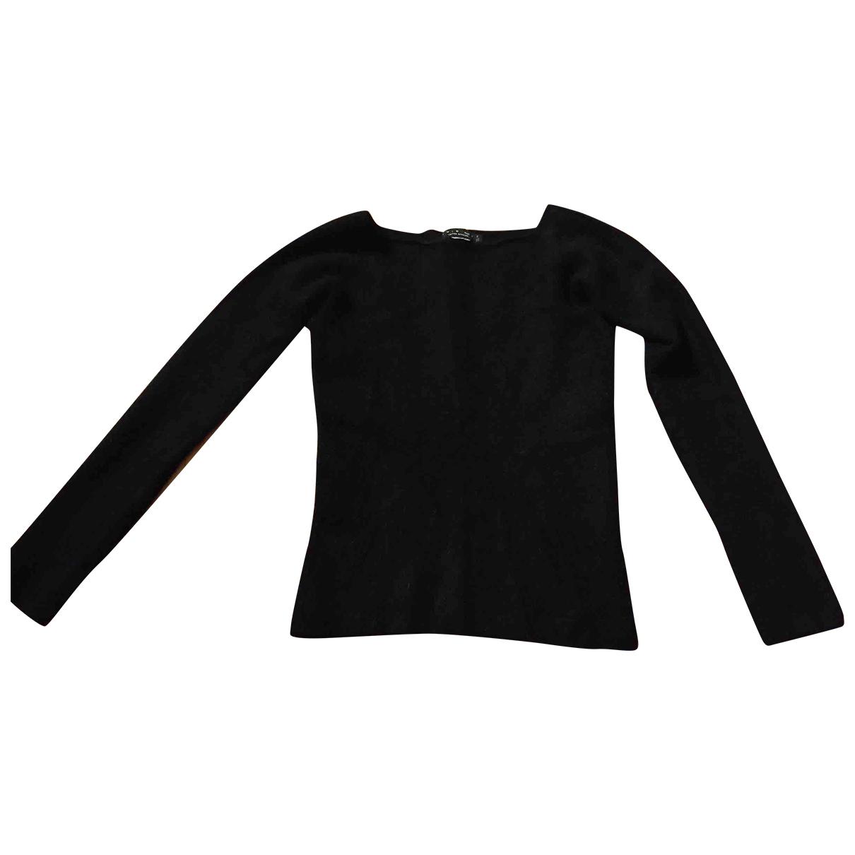 Twin Set - Pull   pour femme en laine - noir