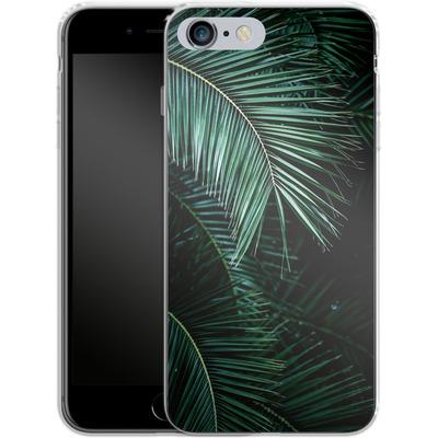 Apple iPhone 6s Plus Silikon Handyhuelle - Palm Leaves 9 von Mareike Bohmer