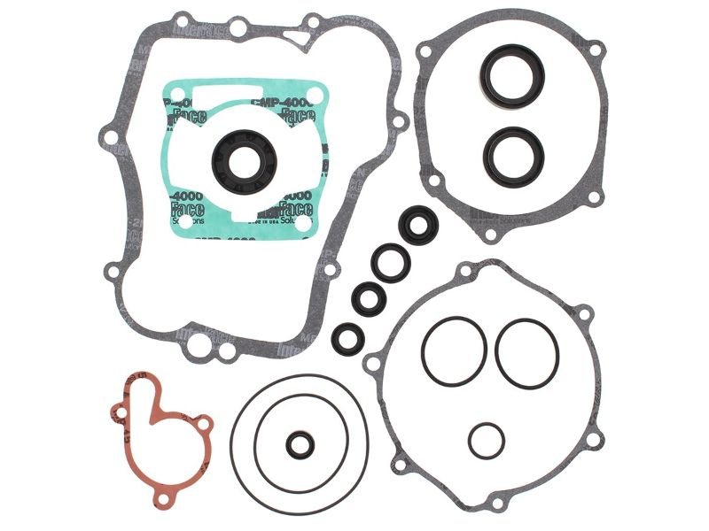 Vertex Complete Gasket Kit with Oil Seals (811614) Yamaha PW80 1983-2006
