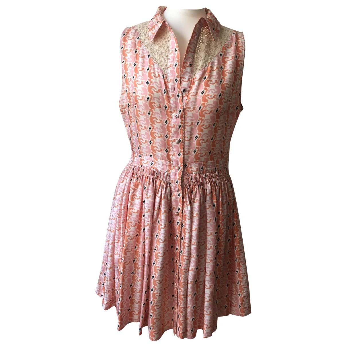 Manoush \N Multicolour Silk dress for Women 42 FR
