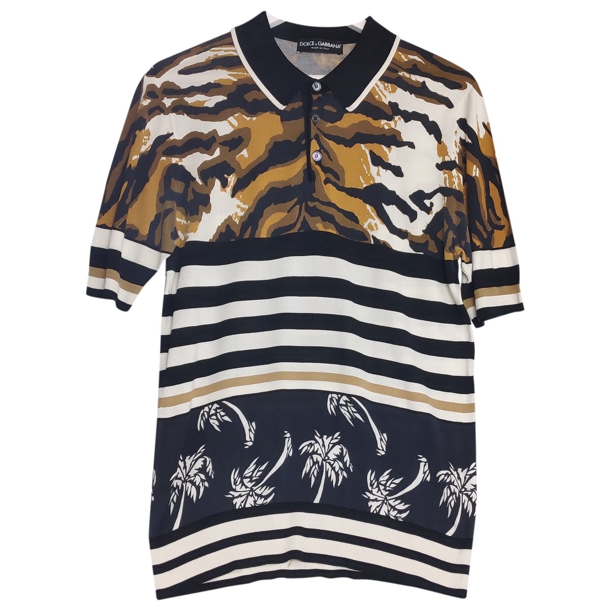 Dolce & Gabbana \N Silk Polo shirts for Men XXL International