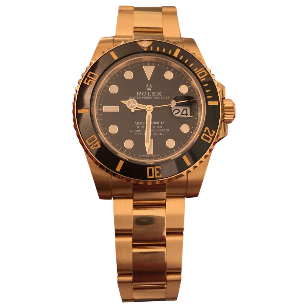 Relojes Submariner de Oro amarillo Rolex