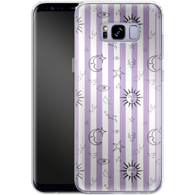 Samsung Galaxy S8 Plus Silikon Handyhuelle - Optical Zodiac von caseable Designs
