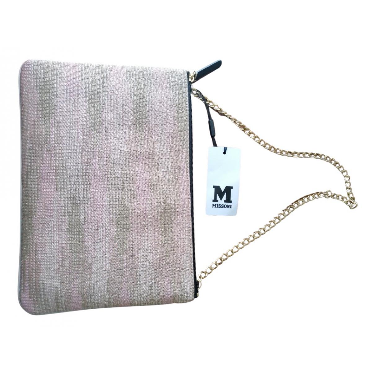 M Missoni \N Handtasche in  Rosa Synthetik