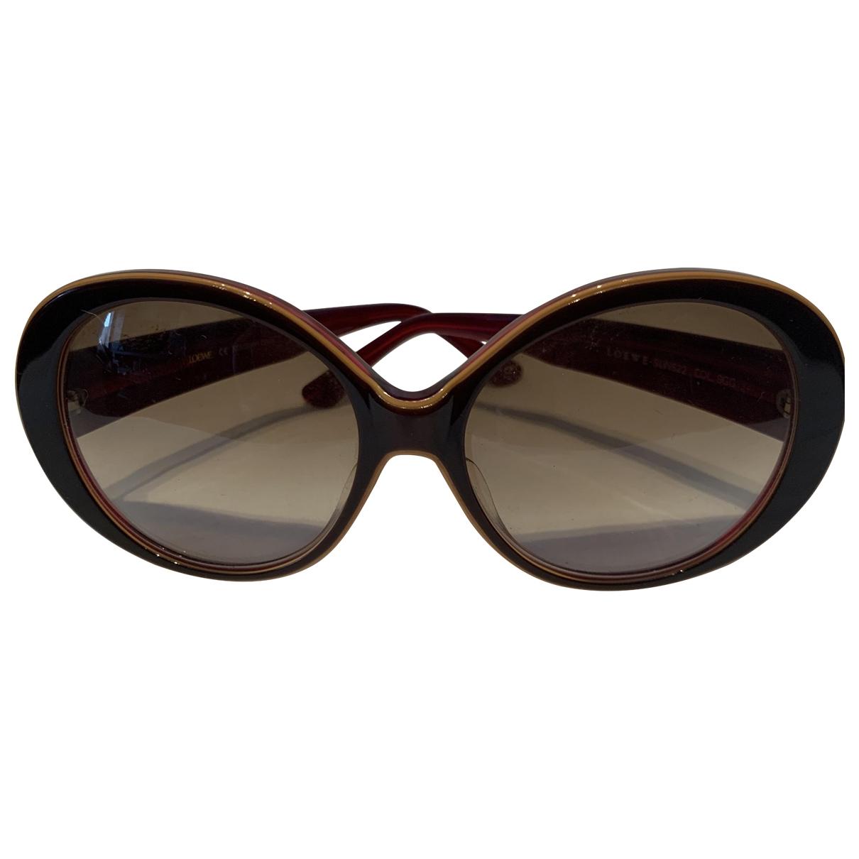 Loewe \N Burgundy Sunglasses for Women XL International
