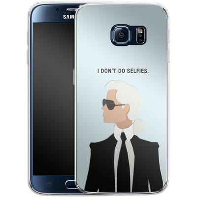 Samsung Galaxy S6 Silikon Handyhuelle - Lagerfeld von caseable Designs