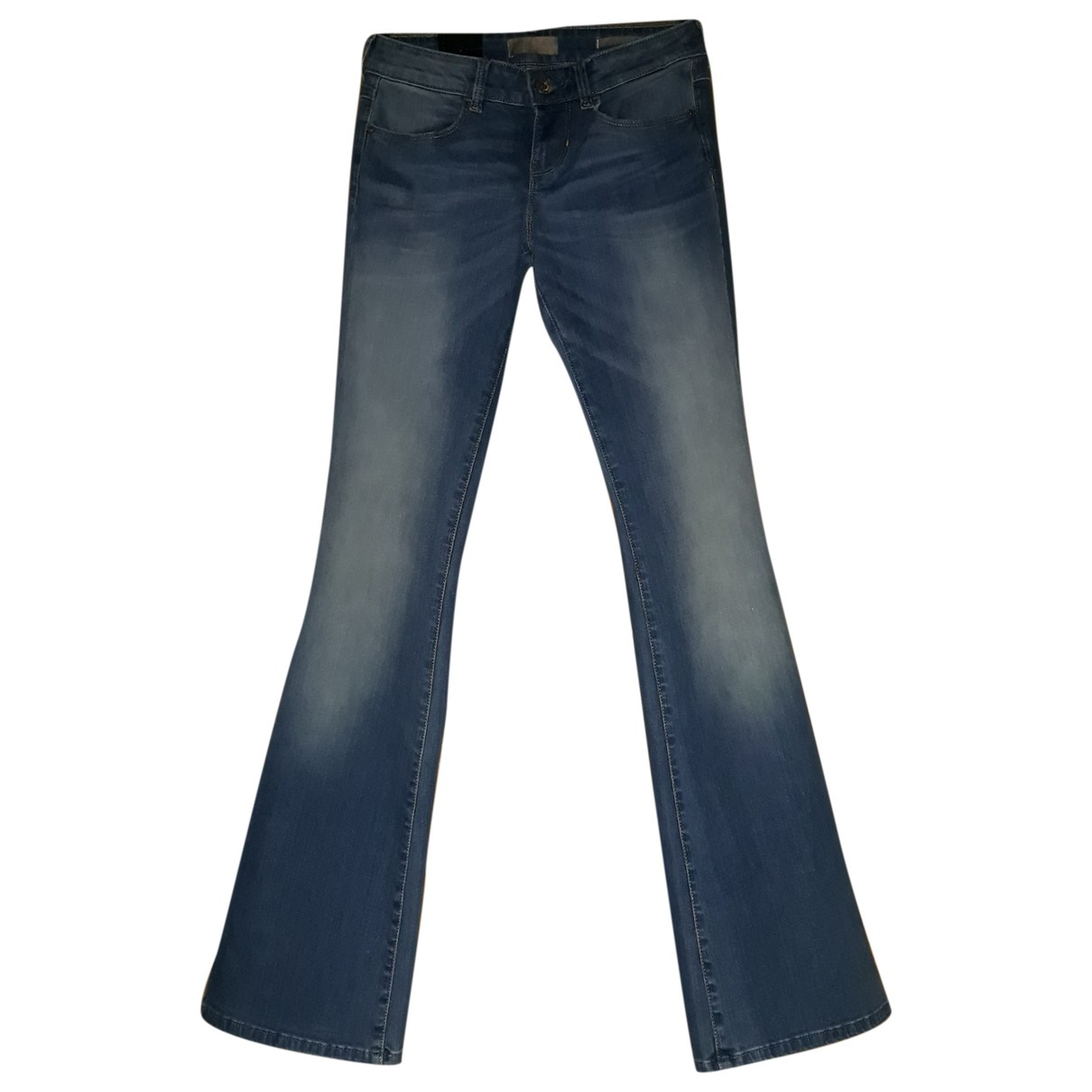 Guess N Blue Cotton - elasthane Jeans for Women 36 FR