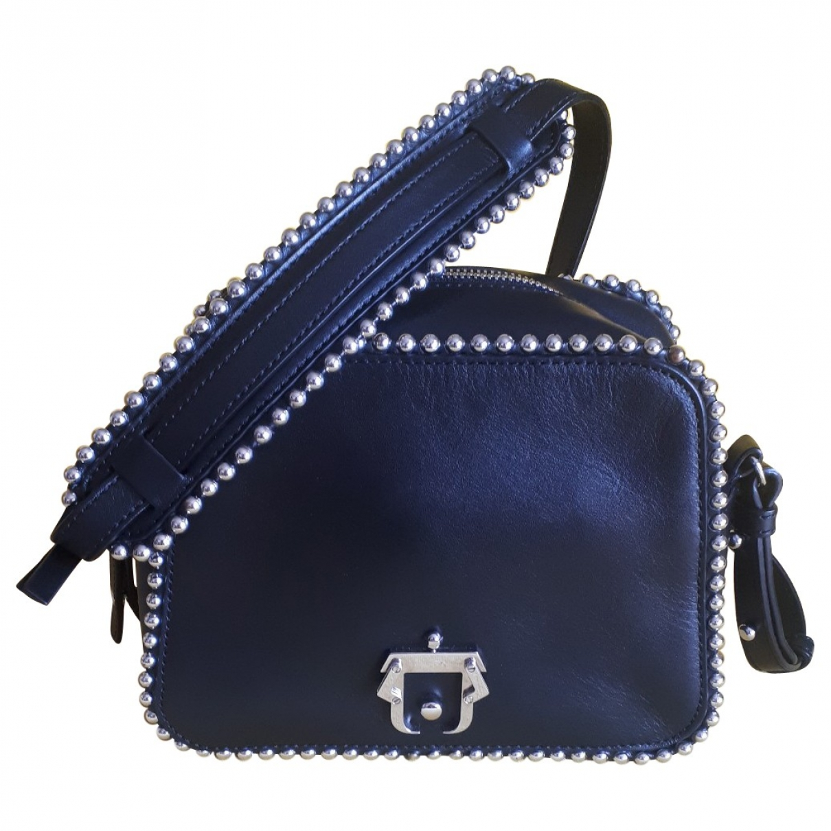 Paula Cademartori \N Handtasche in  Schwarz Leder