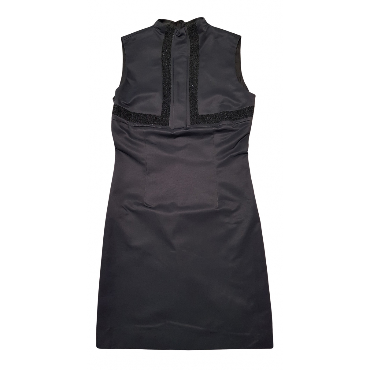 Fendi - Robe   pour femme en coton - bleu