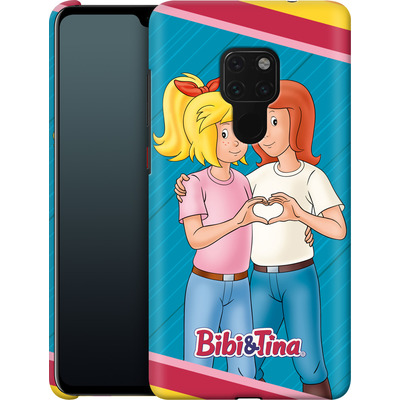 Huawei Mate 20 Smartphone Huelle - Bibi und Tina Regenbogen von Bibi & Tina