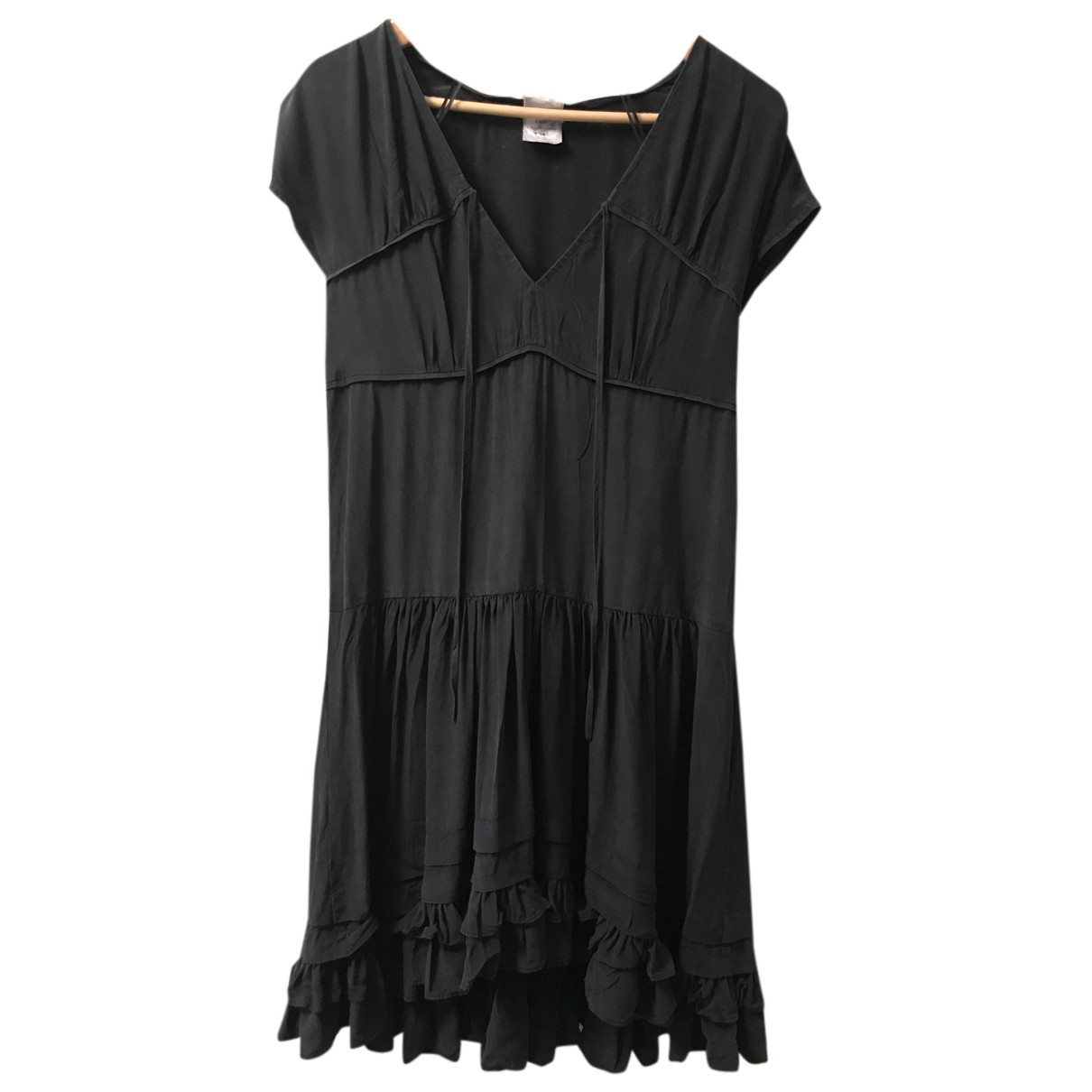 Chloé N Black Silk dress for Women 36 FR