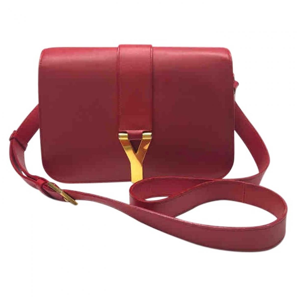 Saint Laurent Chyc Handtasche in  Rosa Leder