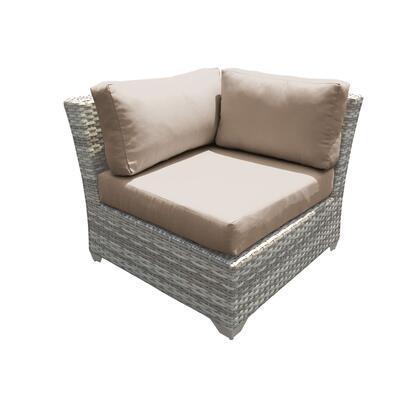 TKC045b-CS-DB-WHEAT Fairmont Corner Sofa 2 Per Box with 2 Covers: Beige and