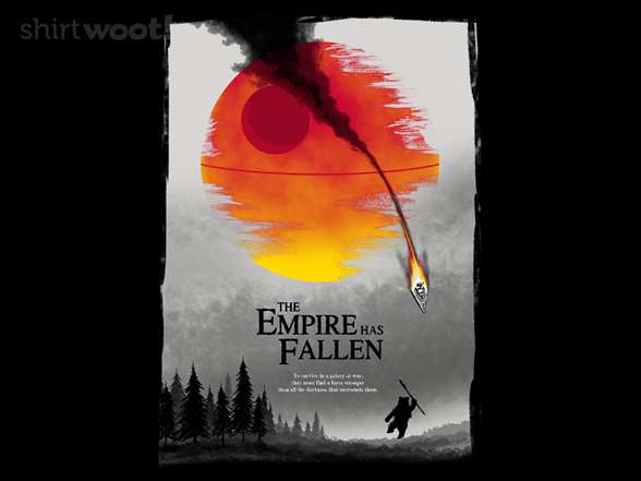 The Empire Has Fallen T Shirt