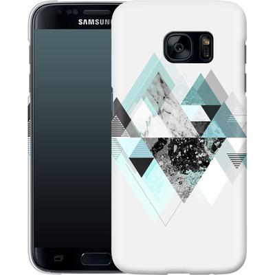 Samsung Galaxy S7 Smartphone Huelle - Graphic 110 - Turquoise von Mareike Bohmer