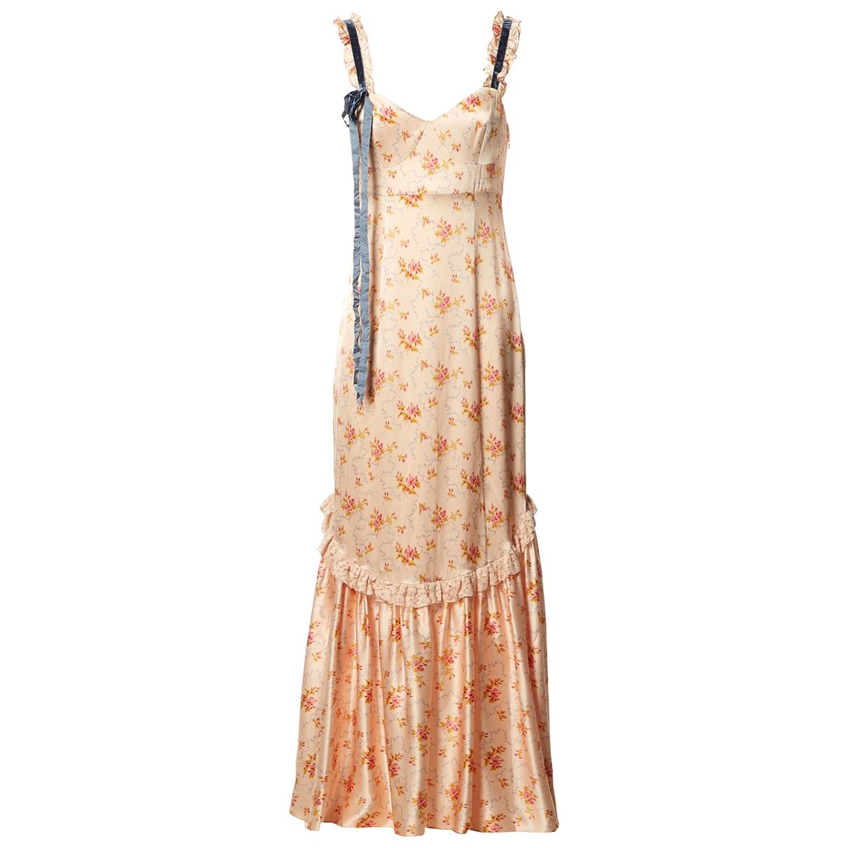 Love Shack Fancy - Robe   pour femme en soie - beige