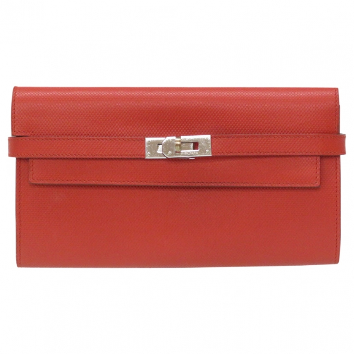 Hermès Kelly Red Leather wallet for Women \N