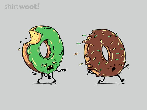 Zombie Donut T Shirt