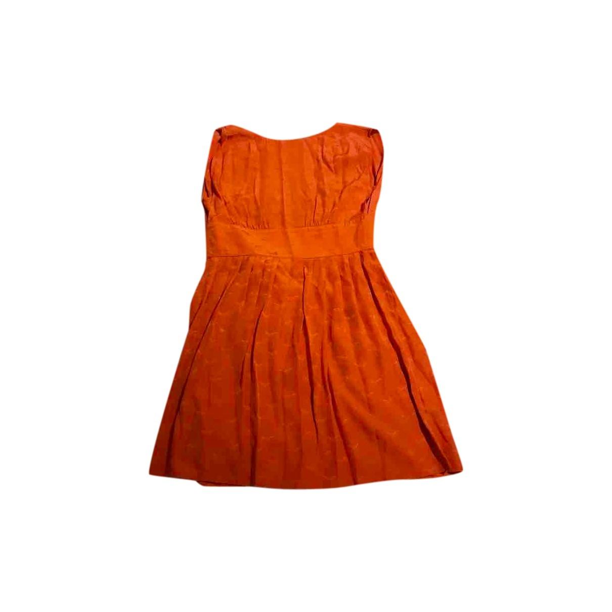 Mini vestido de Seda Sessun