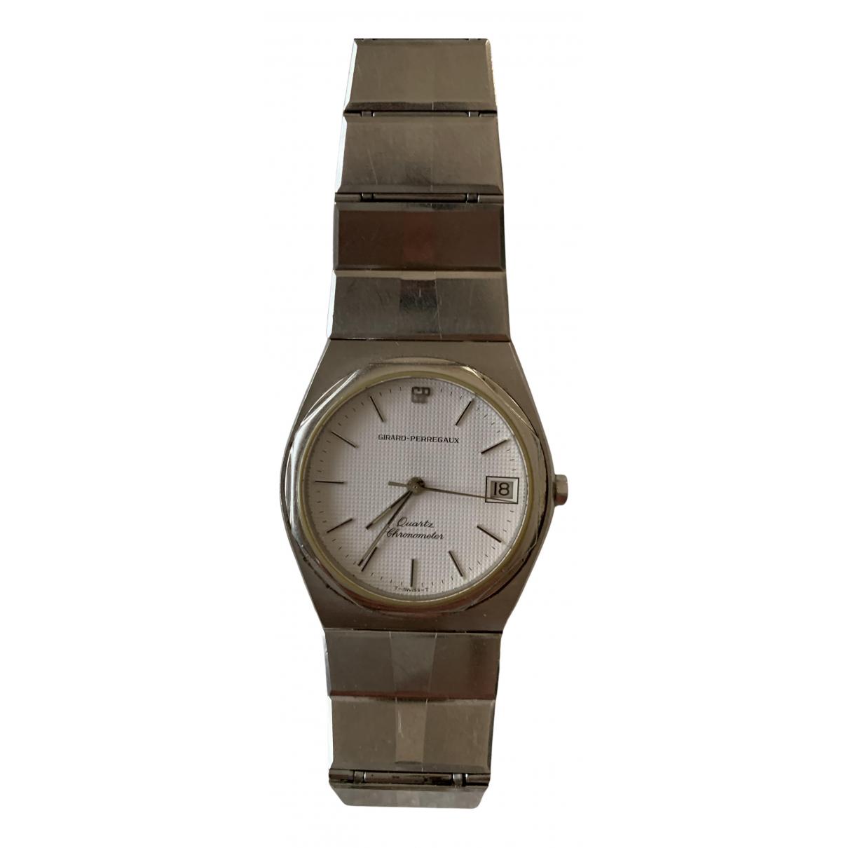 Girard Perregaux \N Uhr in  Silber Stahl