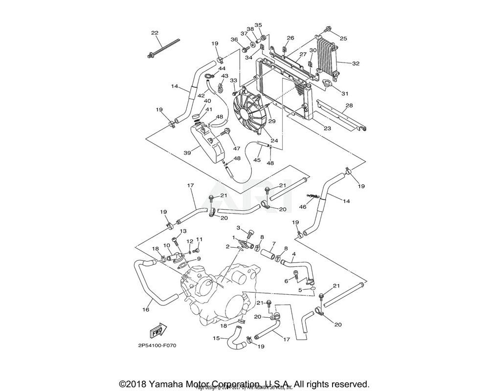 Yamaha OEM 2P5-12434-00-00 GASKET