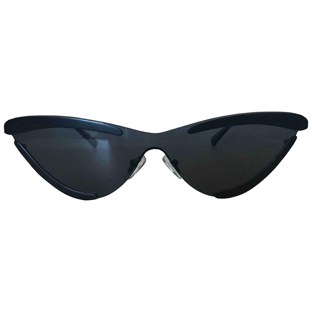 Le Specs - Lunettes   pour femme en metal - noir