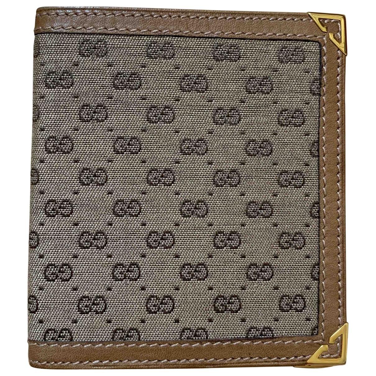 Gucci - Petite maroquinerie   pour femme en cuir - camel