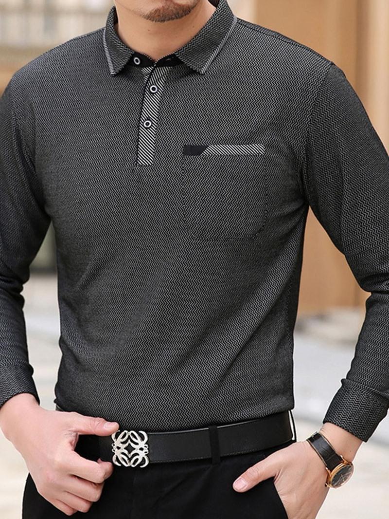 Ericdress Casual Polo Neck Polo Shirt