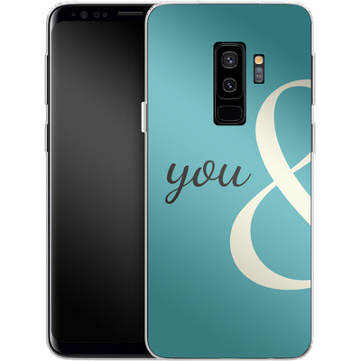 Samsung Galaxy S9 Plus Silikon Handyhuelle - You And von caseable Designs
