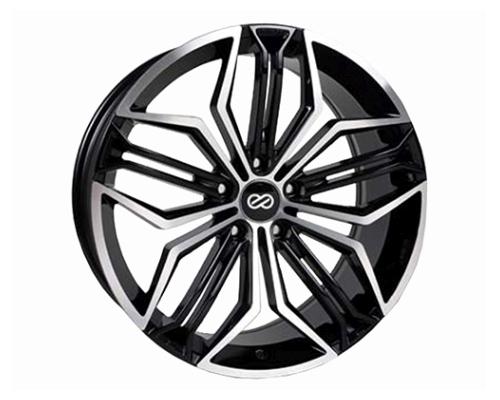Enkei CUV Wheel Performance Series Black Machined 20x8.5 5x120 40mm