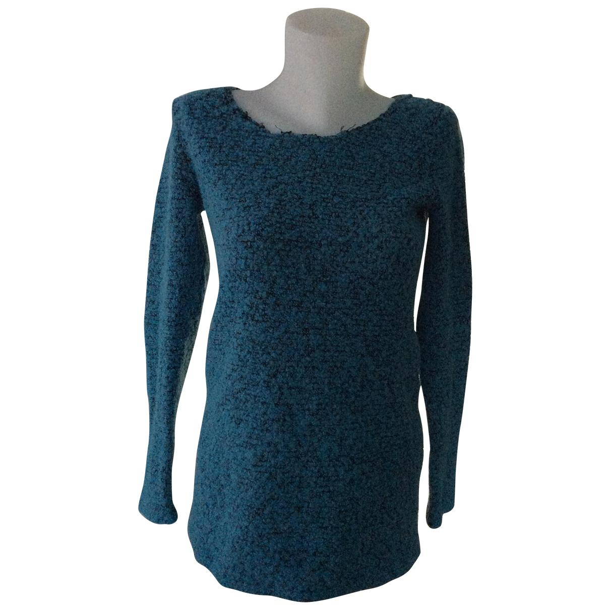 Bimba Y Lola - Pull   pour femme en laine - bleu