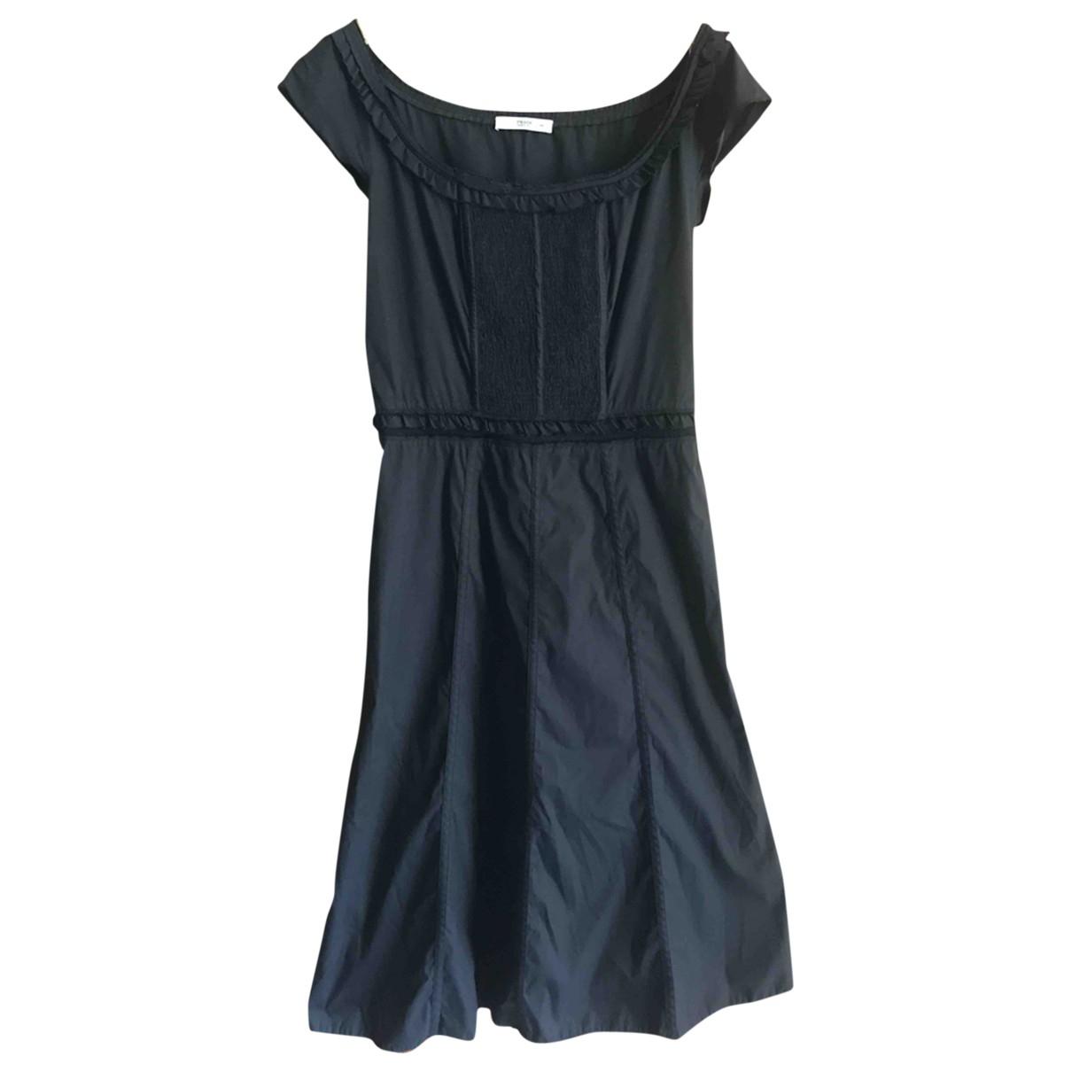 Prada \N Black Cotton dress for Women 44 IT