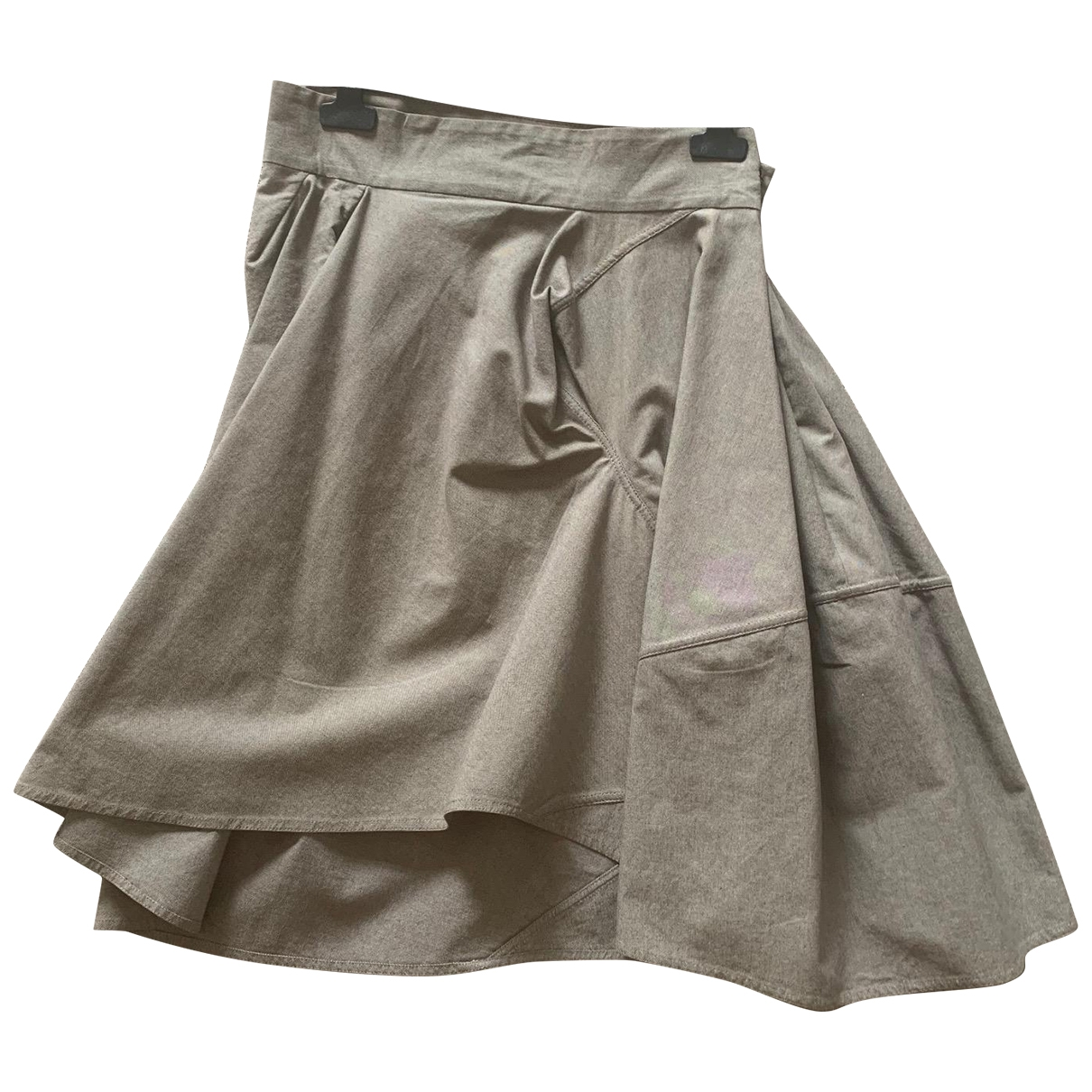 Marni \N Grey Cotton skirt for Women 40 IT