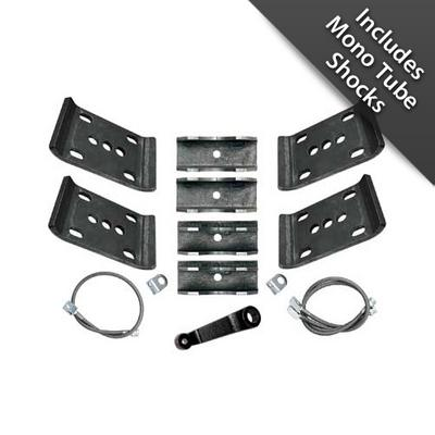 Rubicon Express 5.5 Plus Inch Spring-Over Conversion Lift Kit with Mono Tube Shocks - RE5015M