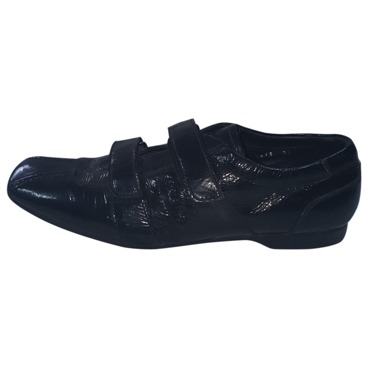 Prada \N Black Patent leather Lace ups for Men 7.5 UK
